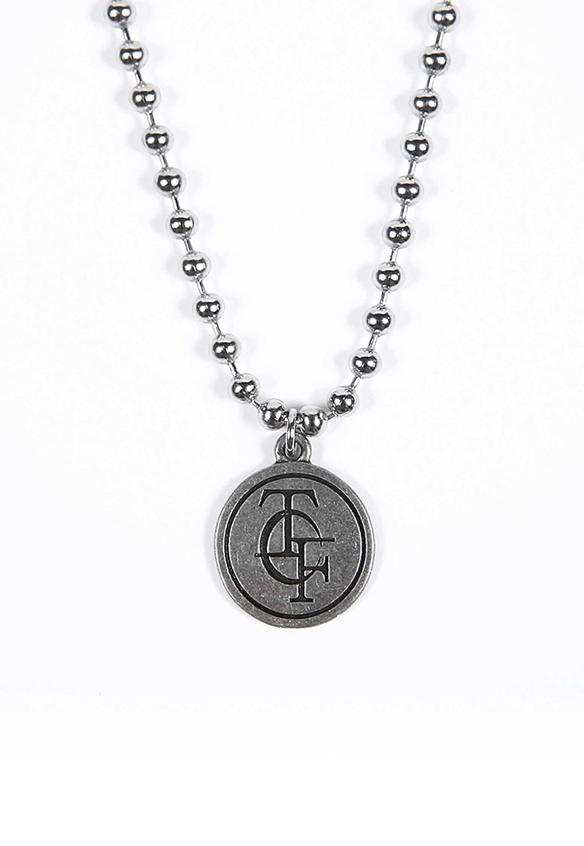 [테크플레이버] Techflavor signature logo necklace  (TA0020)