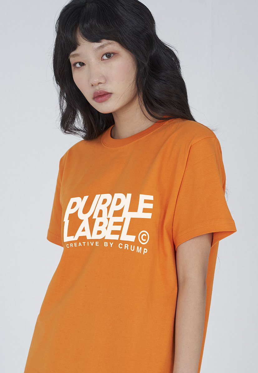 [퍼플라벨] Purple label signature logo tee (PT0001-2)