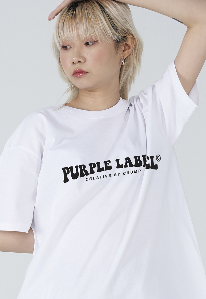 [퍼플라벨] Purple label groovy logo tee (PT0006-3)
