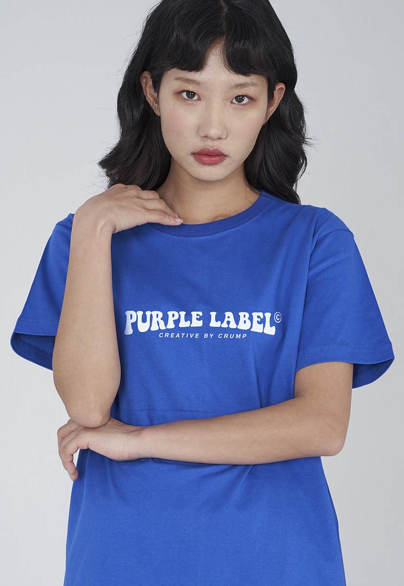 [퍼플라벨] Purple label groovy logo tee (PT0006-2)