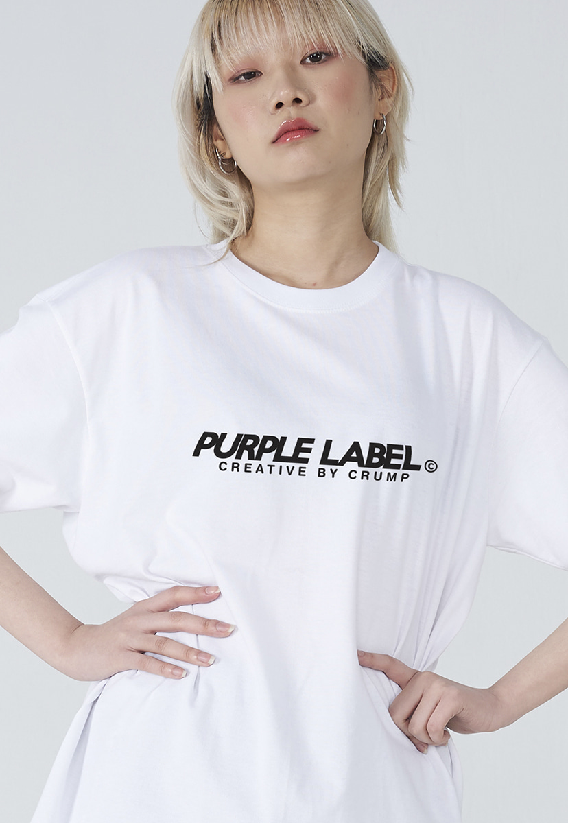 [퍼플라벨] Purple label basic logo tee (PT0002-3)