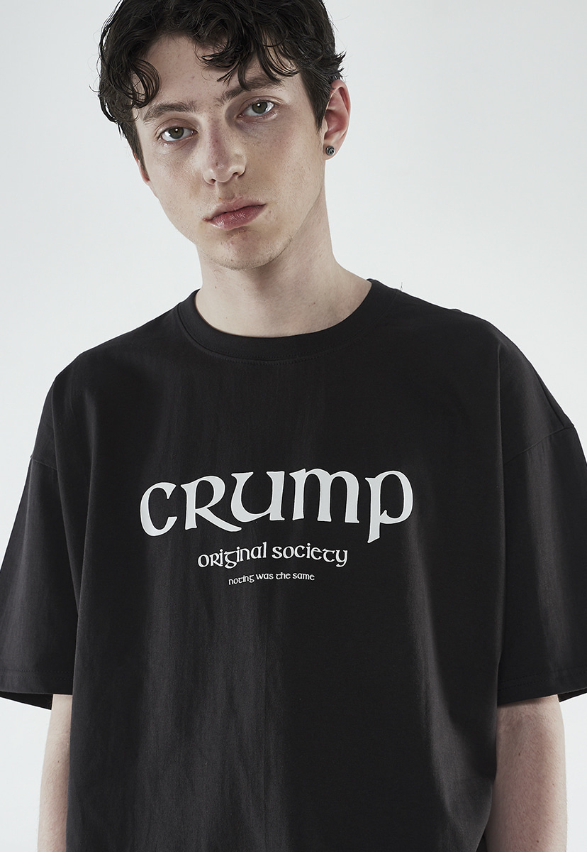 [크럼프] Crump society logo t-shirt (CT0262)