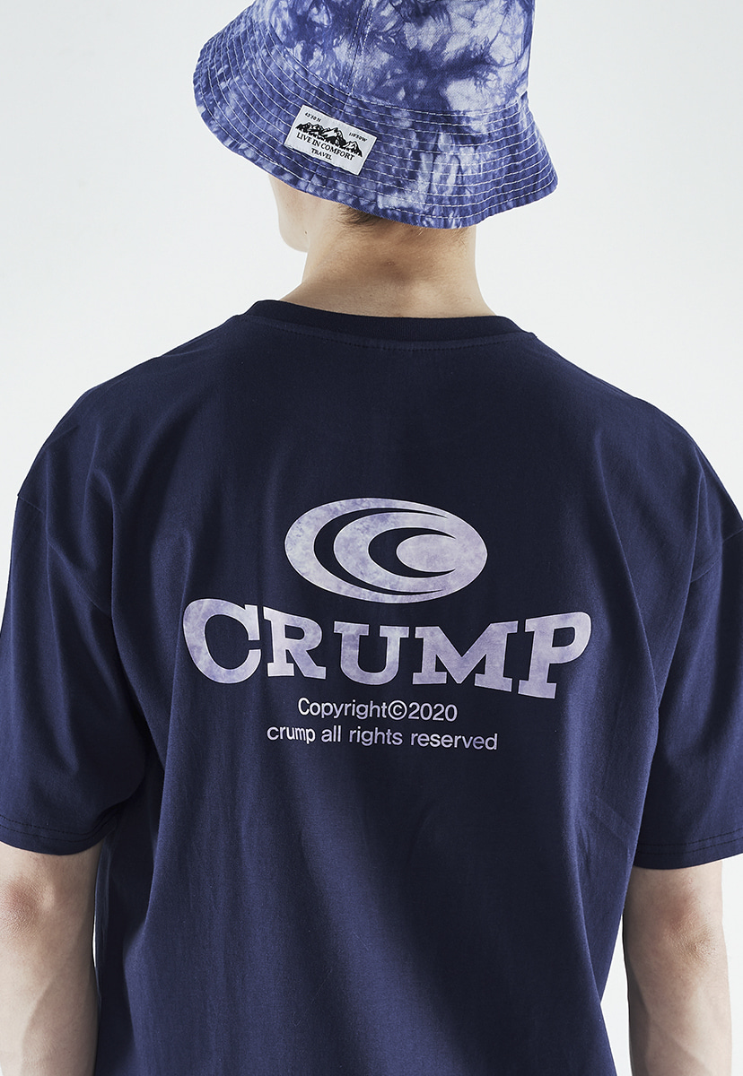 [크럼프] Crump gradation logo t-shirt (CT0260-1)