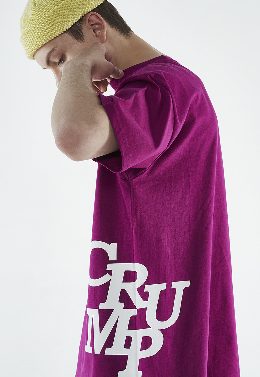 [크럼프] Crump side logo t-shirt (CT0261-1)