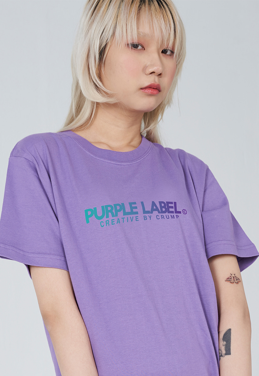 [퍼플라벨] PURPLE LABEL GRADATION LOGO TEE (PT0028-1)
