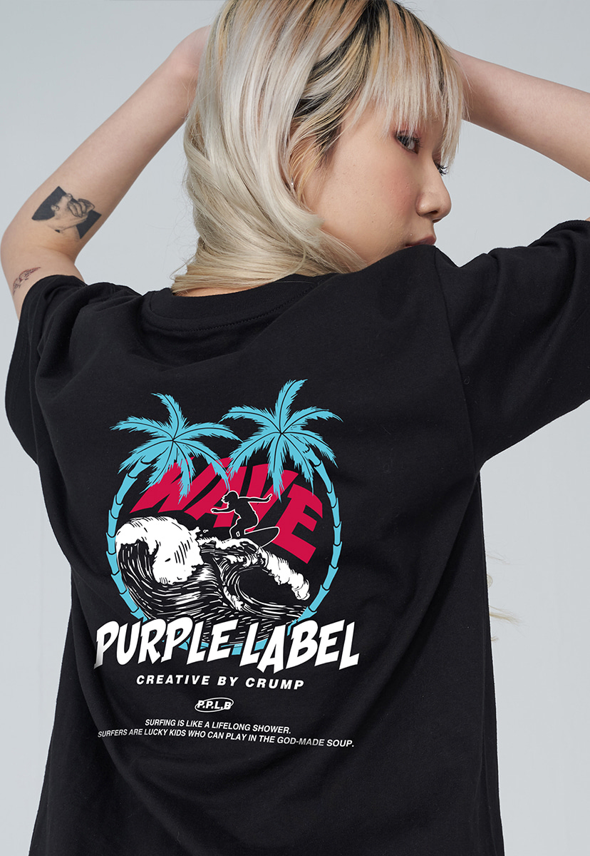 [퍼플라벨] PURPLE LABEL WAVE SURFER TEE (PT0032)