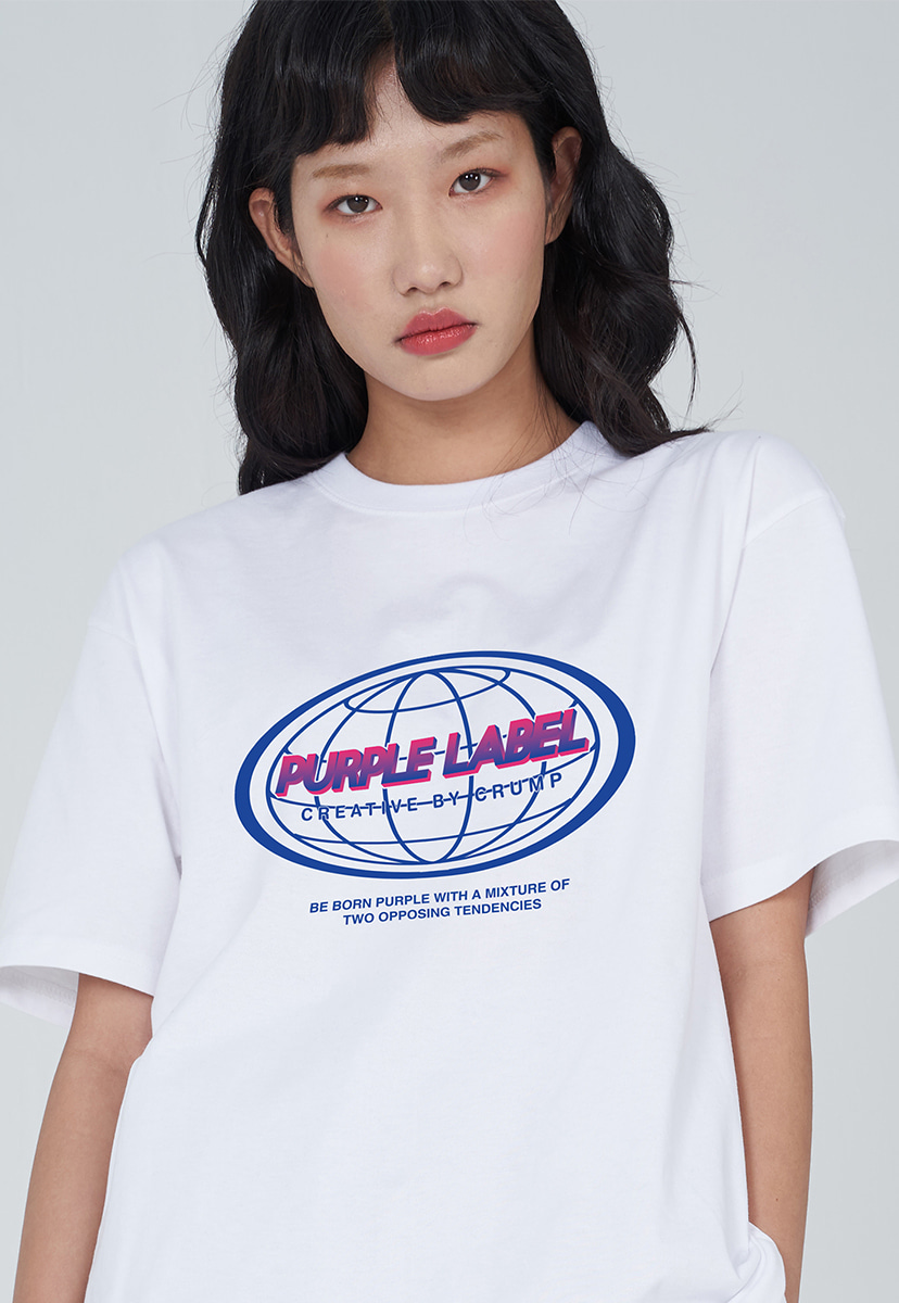 [퍼플라벨] PURPLE LABEL EARTH LOGO TEE (PT0030-3)