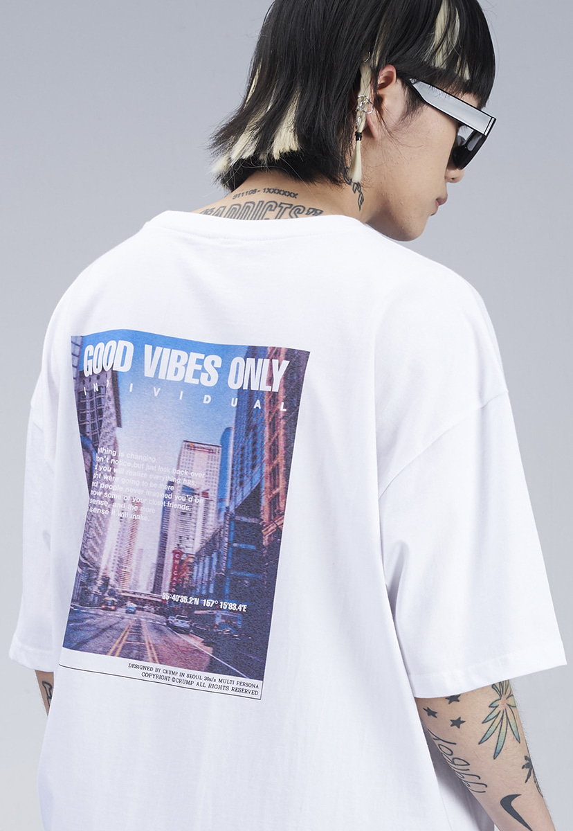 [크럼프] CITY GRAPHIC T-SHIRT (CT0274-2)