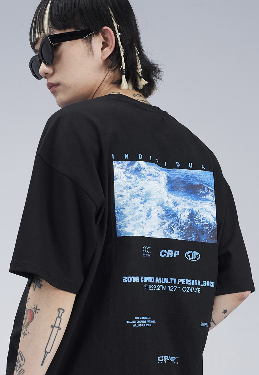 [크럼프] BLUE WAVE T-SHIRT (CT0276)