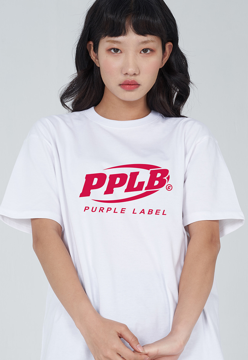 [퍼플라벨] PURPLE LABEL PPLB BIG LOGO TEE (PT0037-2)