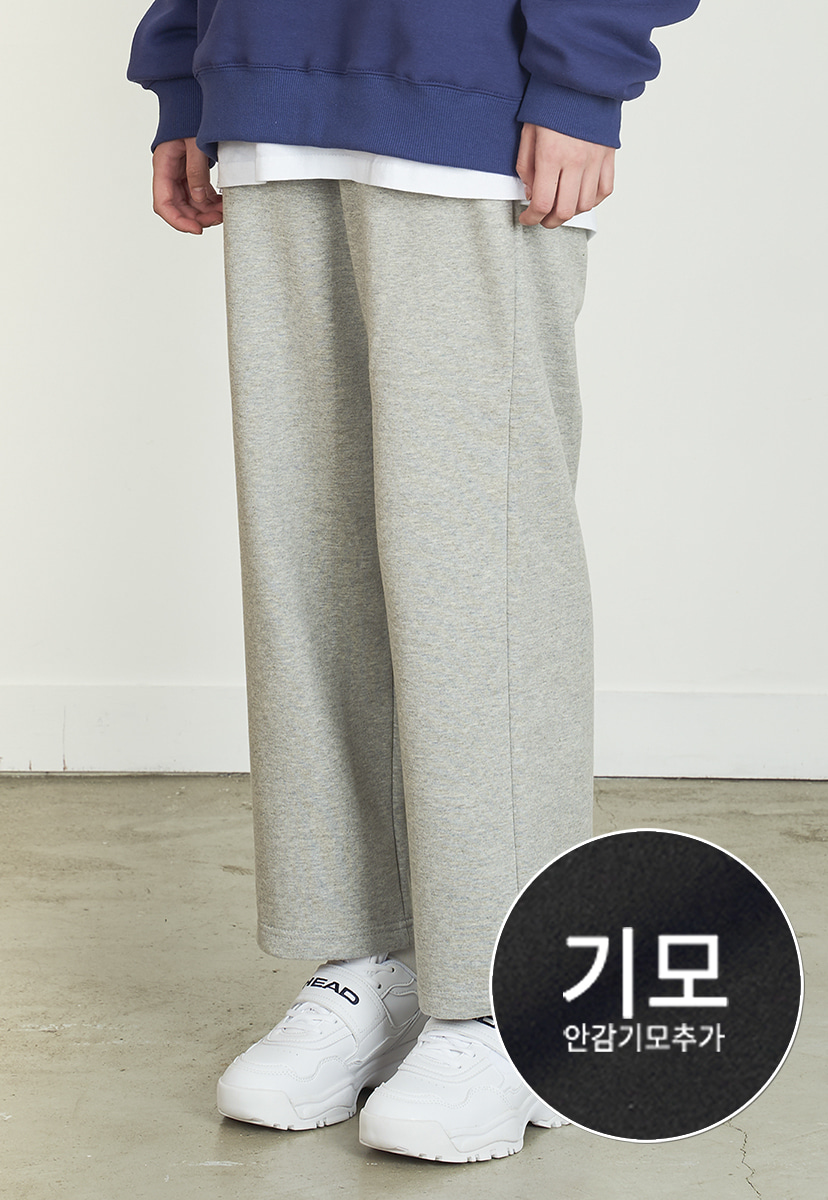 [펴플라벨][기모] PURPLE LABEL STANDARD SWEAT PANTS (PP0010g-1)